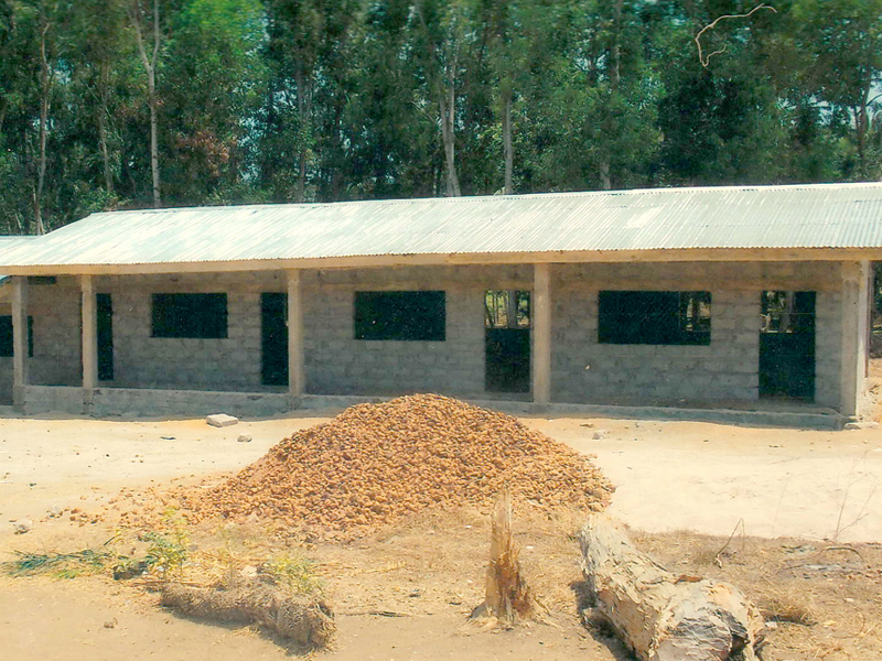 Shepherd Elementary School and Kindergarten in Mahera
